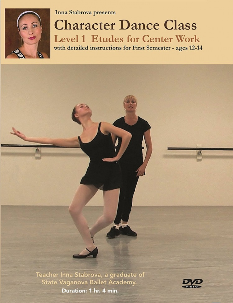 Character Dance Class - Level 1 Etudes For Center Work