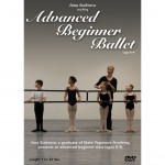 Advanced Beginner Ballet Taught By Inna Stabrova a Graduate From State Vaganova Ballet Academy (2013)  -  Cat No: B00B7ULNXU  -  Click To Order  -  ID: 9