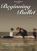 Beginning Ballet Taught By Inna Stabrova a Graduate From State Vaganova Ballet Academy (2011)  -  Cat No: B005BYWM2E  -  Click To Order  -  ID: 7
